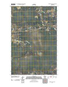 Norman Lake SE Minnesota Historical topographic map, 1:24000 scale, 7.5 X 7.5 Minute, Year 2010