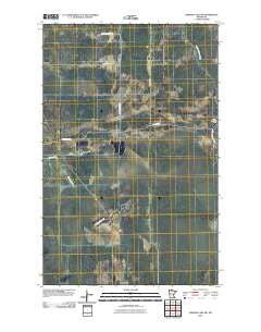 Norman Lake SW Minnesota Historical topographic map, 1:24000 scale, 7.5 X 7.5 Minute, Year 2010