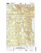 Northome South Minnesota Current topographic map, 1:24000 scale, 7.5 X 7.5 Minute, Year 2016 from Minnesota Map Store