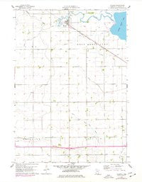 Okabena Minnesota Historical topographic map, 1:24000 scale, 7.5 X 7.5 Minute, Year 1960