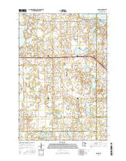 Osakis Minnesota Current topographic map, 1:24000 scale, 7.5 X 7.5 Minute, Year 2016 from Minnesota Maps Store
