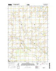Padua Minnesota Current topographic map, 1:24000 scale, 7.5 X 7.5 Minute, Year 2016 from Minnesota Maps Store