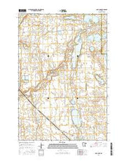 Page Lake Minnesota Current topographic map, 1:24000 scale, 7.5 X 7.5 Minute, Year 2016 from Minnesota Maps Store