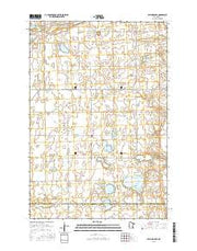 Patchen Lake Minnesota Current topographic map, 1:24000 scale, 7.5 X 7.5 Minute, Year 2016 from Minnesota Maps Store