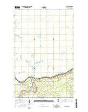 Pelland Minnesota Current topographic map, 1:24000 scale, 7.5 X 7.5 Minute, Year 2016 from Minnesota Maps Store
