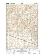 Pennock Minnesota Current topographic map, 1:24000 scale, 7.5 X 7.5 Minute, Year 2016 from Minnesota Map Store