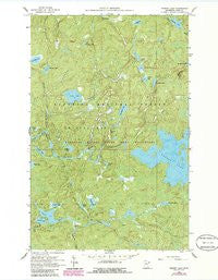 Perent Lake Minnesota Historical topographic map, 1:24000 scale, 7.5 X 7.5 Minute, Year 1960
