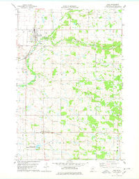 Pierz Minnesota Historical topographic map, 1:24000 scale, 7.5 X 7.5 Minute, Year 1978