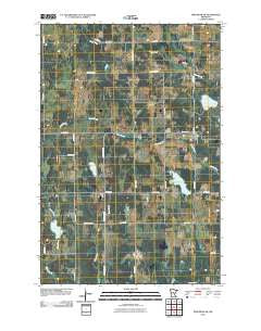 Pine River SW Minnesota Historical topographic map, 1:24000 scale, 7.5 X 7.5 Minute, Year 2010
