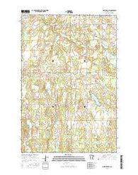 Pine River SW Minnesota Current topographic map, 1:24000 scale, 7.5 X 7.5 Minute, Year 2016