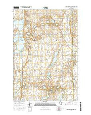 Pomme De Terre Lakes Minnesota Current topographic map, 1:24000 scale, 7.5 X 7.5 Minute, Year 2016 from Minnesota Maps Store