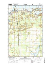 Ranier Minnesota Current topographic map, 1:24000 scale, 7.5 X 7.5 Minute, Year 2016 from Minnesota Maps Store