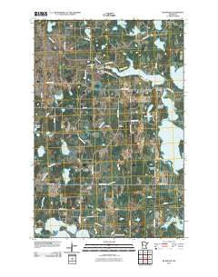Richwood Minnesota Historical topographic map, 1:24000 scale, 7.5 X 7.5 Minute, Year 2010
