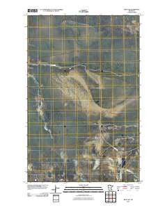 Ridge SW Minnesota Historical topographic map, 1:24000 scale, 7.5 X 7.5 Minute, Year 2010