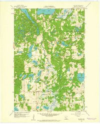 Rochert Minnesota Historical topographic map, 1:24000 scale, 7.5 X 7.5 Minute, Year 1959