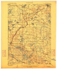 Rockford Minnesota Historical topographic map, 1:62500 scale, 15 X 15 Minute, Year 1909