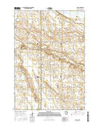 Rosen Minnesota Current topographic map, 1:24000 scale, 7.5 X 7.5 Minute, Year 2016