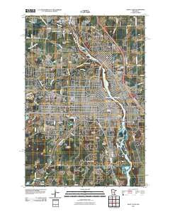 Saint Cloud Minnesota Historical topographic map, 1:24000 scale, 7.5 X 7.5 Minute, Year 2010