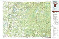 Sandstone Minnesota Historical topographic map, 1:100000 scale, 30 X 60 Minute, Year 1980