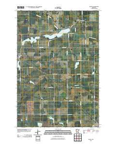 Sedan Minnesota Historical topographic map, 1:24000 scale, 7.5 X 7.5 Minute, Year 2010