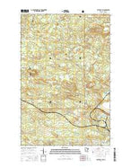 Silver Bay SW Minnesota Current topographic map, 1:24000 scale, 7.5 X 7.5 Minute, Year 2016 from Minnesota Map Store