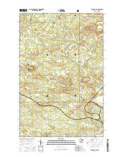 Silver Bay SW Minnesota Current topographic map, 1:24000 scale, 7.5 X 7.5 Minute, Year 2016 from Minnesota Maps Store
