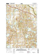 Silver Creek Minnesota Current topographic map, 1:24000 scale, 7.5 X 7.5 Minute, Year 2016 from Minnesota Map Store