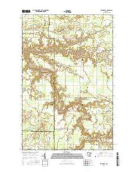 Silverdale Minnesota Current topographic map, 1:24000 scale, 7.5 X 7.5 Minute, Year 2016