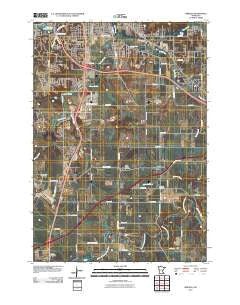 Simpson Minnesota Historical topographic map, 1:24000 scale, 7.5 X 7.5 Minute, Year 2010