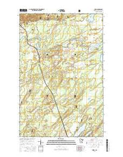 Skibo Minnesota Current topographic map, 1:24000 scale, 7.5 X 7.5 Minute, Year 2016 from Minnesota Maps Store