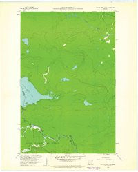 South Fowl Lake Minnesota Historical topographic map, 1:24000 scale, 7.5 X 7.5 Minute, Year 1960