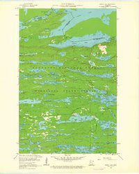South Lake Minnesota Historical topographic map, 1:24000 scale, 7.5 X 7.5 Minute, Year 1960