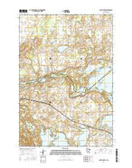 South Haven Minnesota Current topographic map, 1:24000 scale, 7.5 X 7.5 Minute, Year 2016 from Minnesota Map Store