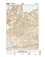 Spicer Minnesota Current topographic map, 1:24000 scale, 7.5 X 7.5 Minute, Year 2016 from Minnesota Map Store