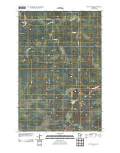 Split Rock Lake Minnesota Historical topographic map, 1:24000 scale, 7.5 X 7.5 Minute, Year 2010