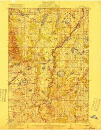 St. Francis Minnesota Historical topographic map, 1:62500 scale, 15 X 15 Minute, Year 1919