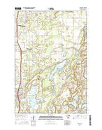 Stacy Minnesota Current topographic map, 1:24000 scale, 7.5 X 7.5 Minute, Year 2016 from Minnesota Map Store