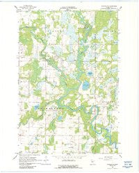 Staples NE Minnesota Historical topographic map, 1:24000 scale, 7.5 X 7.5 Minute, Year 1966