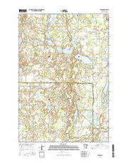 Stark Minnesota Current topographic map, 1:24000 scale, 7.5 X 7.5 Minute, Year 2016 from Minnesota Maps Store