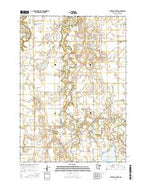 Sterling Center Minnesota Current topographic map, 1:24000 scale, 7.5 X 7.5 Minute, Year 2016 from Minnesota Map Store