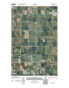 Strandquist Minnesota Historical topographic map, 1:24000 scale, 7.5 X 7.5 Minute, Year 2010
