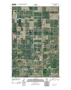 Strathcona Minnesota Historical topographic map, 1:24000 scale, 7.5 X 7.5 Minute, Year 2010