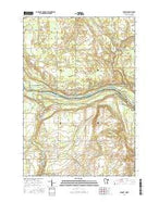 Sunrise Minnesota Current topographic map, 1:24000 scale, 7.5 X 7.5 Minute, Year 2016 from Minnesota Map Store