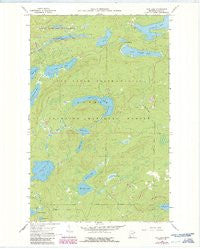 Tait Lake Minnesota Historical topographic map, 1:24000 scale, 7.5 X 7.5 Minute, Year 1960