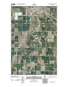 Thief River Falls Minnesota Historical topographic map, 1:24000 scale, 7.5 X 7.5 Minute, Year 2010