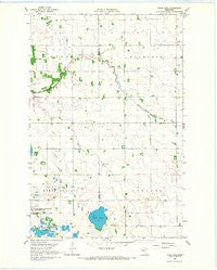 Tilde Lake Minnesota Historical topographic map, 1:24000 scale, 7.5 X 7.5 Minute, Year 1966