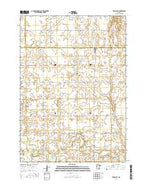 Truman SE Minnesota Current topographic map, 1:24000 scale, 7.5 X 7.5 Minute, Year 2016 from Minnesota Map Store