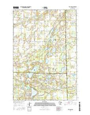 Typo Lake Minnesota Current topographic map, 1:24000 scale, 7.5 X 7.5 Minute, Year 2016 from Minnesota Maps Store