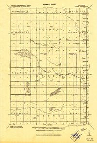 Ulen Minnesota Historical topographic map, 1:62500 scale, 15 X 15 Minute, Year 1918