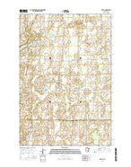 Upsala Minnesota Current topographic map, 1:24000 scale, 7.5 X 7.5 Minute, Year 2016 from Minnesota Map Store